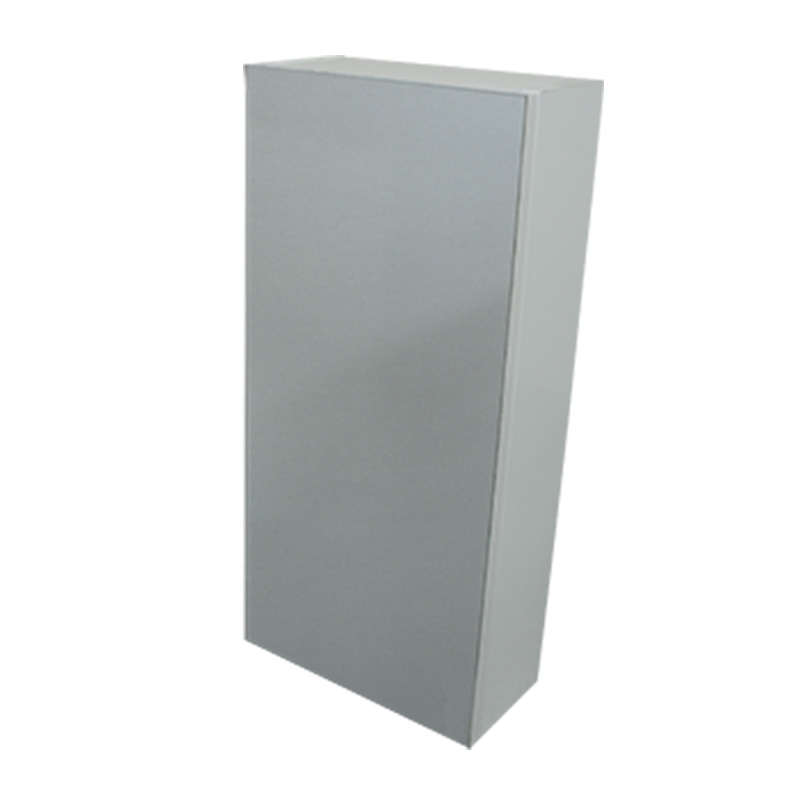 PASCAL 300 SNG MIRROR WALL UNIT WITH GLASS SHELF - HGW