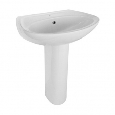 DELUXE BASIN AND UNIVERSAL FULL PEDESTAL
