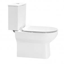 TOILET CLOSE COUPLE NOVA TOP FLUSH WHITE DIDI