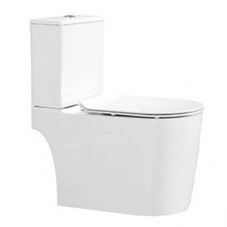 TOILET CLOSE COUPLE PALI III TOP FLUSH WHITE DIDI