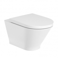 THE GAP ROUND RIMLESS WALL HUNG PAN INCL SC SEAT(A3460NL000)
