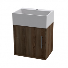 CUBE WALL HUNG UNIT SAHARA + TR4128 SANTOS BASIN