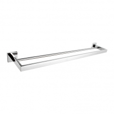 ACCESSORIES ORION DOUBLE TOWEL RAIL CHROME DIDI