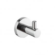 ACCESSORIES PANDORA SINGLE ROBE HOOK CHROME DIDI