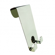 ACCESSORIES NU COVELI DOUBLE ROBE HOOK STAINLESS STEEL AVEC