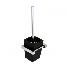 ACCESSORIES SQUARE  TOILET BRUSH HOLDER STAINLESS STEEL AVEC