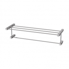 ACCESSORIES SQUARE  TOWEL SHELF STAINLESS STEEL AVEC