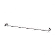 ACCESSORIES SUPREME SINGLE 800 TOWEL RAIL STAINLESS STEEL AV