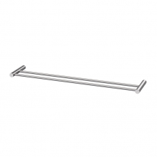 ACCESSORIES VENUS DOUBLE 600 TOWEL RAIL STAINLESS STEEL AVEC