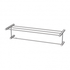ACCESSORIES VENUS  TOWEL SHELF STAINLESS STEEL AVEC