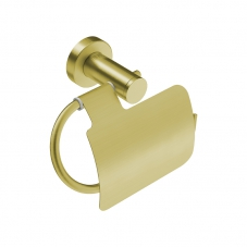 4603 PAPER HOLD II + FLAP - BRUSHED CHAMPAGNE GOLD 4603BCGD