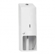 TICRA 3 ROLL TOILET ROLL HOLDER LOCKABLE - WHITE (PHTIC11)