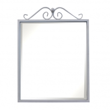 ACCESSORIES POSEIDON  MIRROR WHITE PEWTER POSEIDON