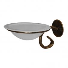 ACCESSORIES POSEIDON WALL MOUNT SOAP DISH GOLD POSEIDON
