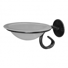 ACCESSORIES POSEIDON WALL MOUNT SOAP DISH PEWTER