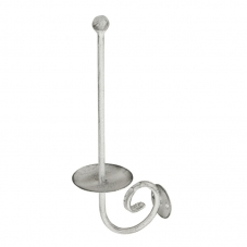 ACCESSORIES POSEIDON  SPARE PAPER HOLDER WHITE PEWTER POSEID