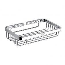 ACCESSORIES HOTEL GRATED  CONTAINER CHROME ROCA