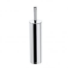 ACCESSORIES HOTEL FREESTANDING TOILET BRUSH HOLDER CHROME RO