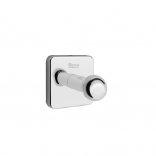 ACCESSORIES VICTORIA SINGLE ROBE HOOK CHROME ROCA