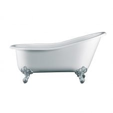 SHROPSHIRE ROLL TOP BATH 1537*762*652-786MM (INC FEET)