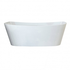 TRIVENTO FREE STANDING BATH- WHITE  (1650*700*575MM)