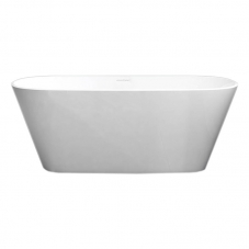 VETRALLA 2 1650MM FREE STANDING BATH- WHITE (1650*727*550MM)