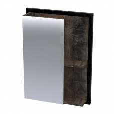 FERRO 440 MIRROR UNIT - MATT BLACK STEEL AND NAPOCA