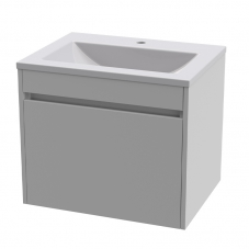 HUGO 600 WALL HUNG UNIT - PURE WHITE + HUGO 600 BASIN