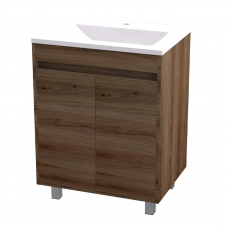 HUGO 600 FLOOR UNIT (2 DOOR) - SAHARA + HUGO 600 BASIN