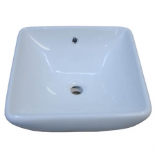BASIN COUNTER MOUNT  ATTICA WHITE DIDI
