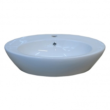 BASIN COUNTER MOUNT  EPIRUS WHITE DIDI