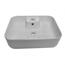 BASIN COUNTER MOUNT  COCO WHITE DIDI