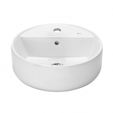 A3270MK000 THE GAP 400MM ROUND COUNTER TOP BASIN - WHITE