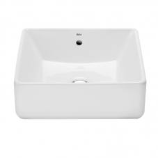 A3270ML000 THE GAP 390MM SQUARE COUNTER TOP BASIN - WHITE