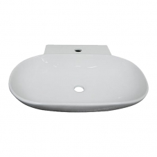 BASIN COUNTER MOUNT  EMILIA WHITE DIDI