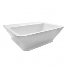 BASIN COUNTER MOUNT  ZOLA WHITE DIDI