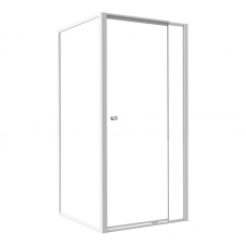 COM90WC 900*900MM TEL/PIVO+R/PANEL -WHITE/CLEAR (IN ONE BOX)
