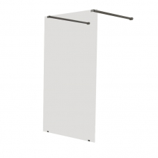 SHOWER SCREEN PRISM 1500 * 2000 SILVER / CLEAR FINESTRA