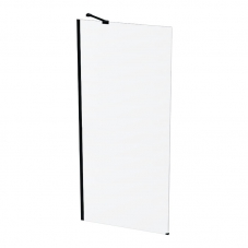 SHOWER SCREEN CLEAR 1200 * 2000 BLACK / CLEAR FINESTRA