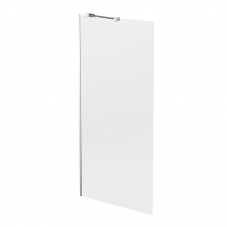 SFP90SC 900*1860*6MM SEMI FRAME RETURN PANEL SILVER/CLEAR