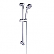 FITTINGS SHOWER HAND SHOWER & SLIDING RAIL CHROME DIDI