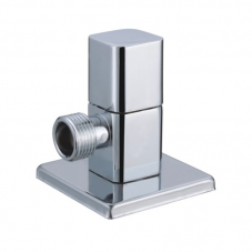 FITTINGS VALVE ANGLE 15MM X 15MM SQUARE CHROME DIDI