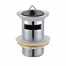 FITTINGS WASTE BASIN PLUG - SLOTTED CHROME DIDI