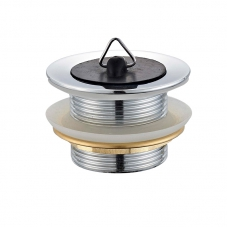 FITTINGS WASTE BATH PLUG STANDARD CHROME DIDI