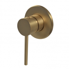 NEO CONCEALED BATH SHOWER MIXER - BRUSHED BRASS (NM0A000)