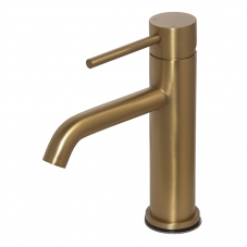NEO BASIN MIXER STANDARD - BRUSHED BRASS (NM0A010)