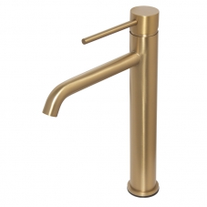 NEO BASIN MIXER TALL - BRUSHED BRASS (NM0A012)