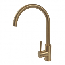 NEO SINK MIXER DECK TYPE - BRUSHED BRASS (NM0A019)