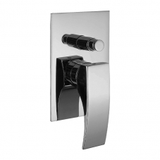 TAP GALATINA BATH SHOWER DIVERTOR MIXER UNDERWALL CHROME CAE