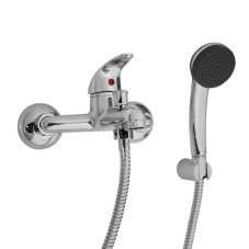 TAP ZEUS BATH MIXER WITH HANDSHOWER CHROME CAE